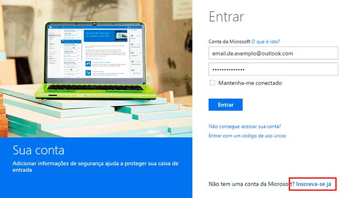 Outlook email entrar - aprenda a acessar o seu email
