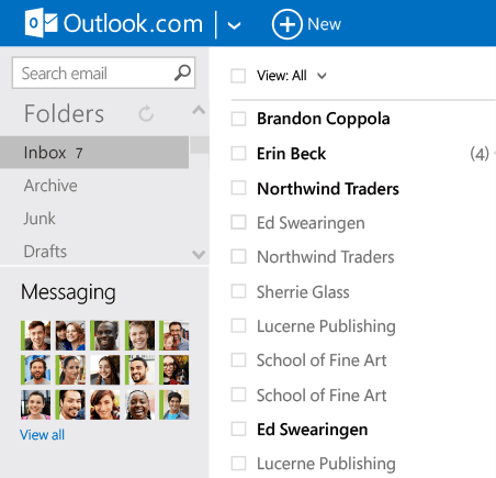 outlook.com entrar
